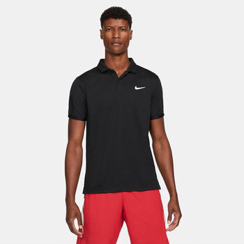 NikeCourt Dri-FIT Victory polo Heren Zwart
