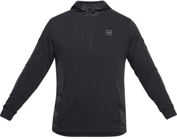 Under Armour Threadborne hoodie Heren Zwart