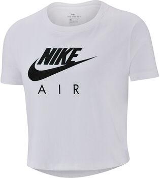 Nike Sportswear Air Crop shirt Meisjes Wit