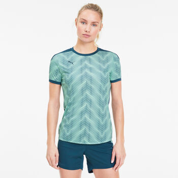 Puma FTBLNXT Graphic shirt Dames Blauw