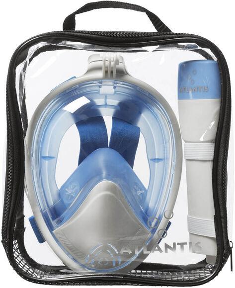 2.0 white/blue s/m snorkelmasker