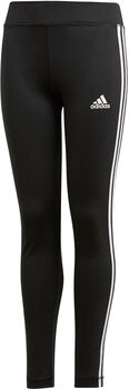 ADIDAS Training Equipment 3-Stripes tight Meisjes Zwart