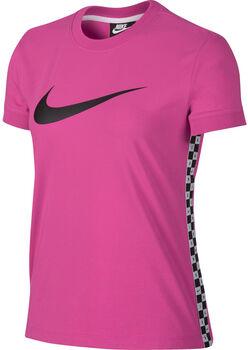 Nike Sportswear Hyp FM shirt Dames Paars