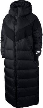 Nike Sportswear parka jas Dames Zwart