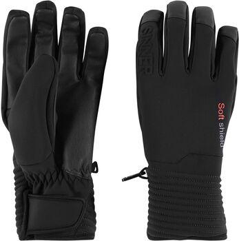 Sinner Ski Mont handschoenen Heren Zwart