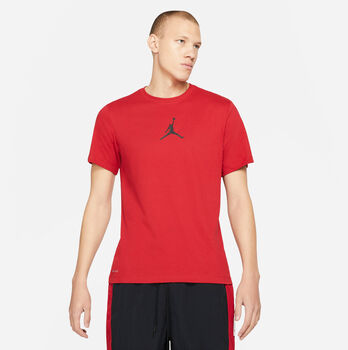 Nike Jordan Jumpman Dri-FIT t-shirt Heren Rood