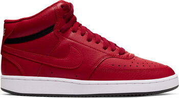 Nike Court Vision Mid basketbalschoenen Dames Rood