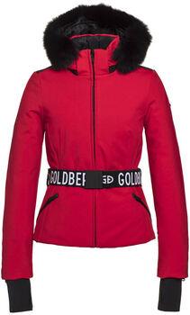 Goldbergh Hida Fur ski-jas Dames Rood