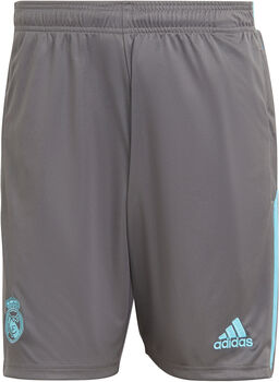 adidas Real Madrid Short Heren Grijs