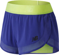 New Balance Transform 2 in 1 short Dames Blauw