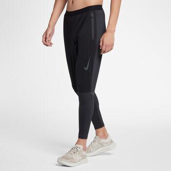 Nike Shield Swift hardloopbroek Heren Zwart