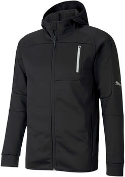 Puma EvoStripe FZ Warm hoodie Heren Zwart