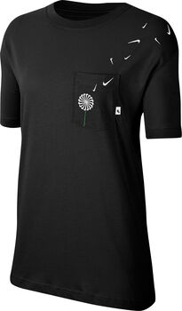 Nike Sporswear Novel shirt Dames Zwart