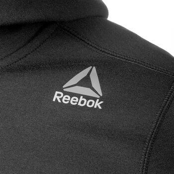Reebok Quickdry hoodie Heren Zwart