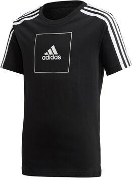 adidas Athletics Club kids shirt Jongens Zwart