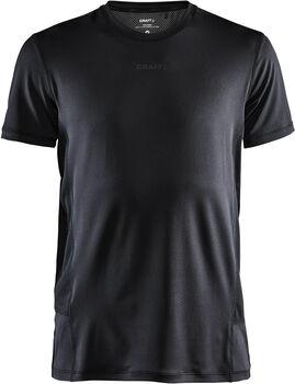 Craft ADV Essence SS Tee M shirt Heren Zwart