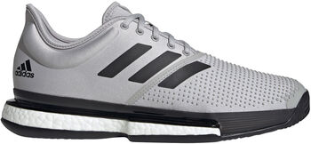 adidas SoleCourt Parley tennisschoenen Heren Grijs