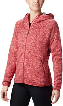 Columbia Chillin fleece Dames Rood