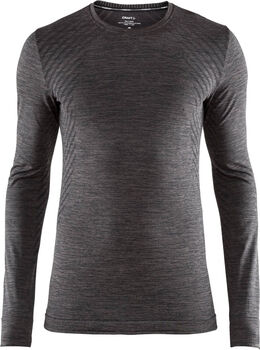Craft Fuseknit Comfort Longsleeve top Heren Zwart