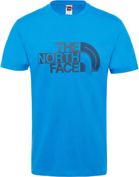 The North Face Extent P8 Logo shirt Heren Blauw