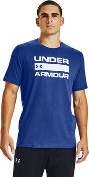Under Armour Team Issue Wordmark shirt Heren Blauw