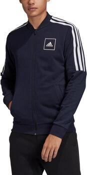 adidas 3-Stripes Tape Trainingsjack Heren Zwart