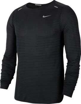 Nike Techknit Utlra longsleeve Heren Zwart