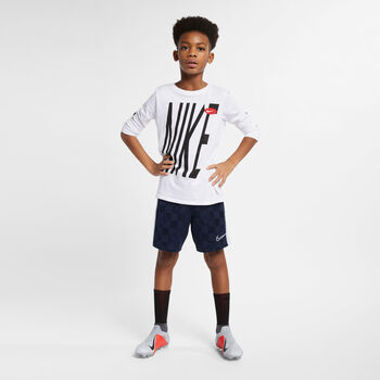 Nike Breathe Academy short Jongens Blauw