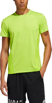 adidas AEROREADY 3-Stripes shirt Heren Groen