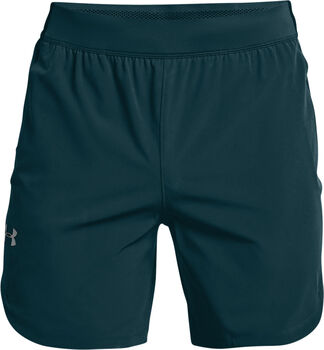 Under Armour Stretch-Woven shorts Heren Blauw