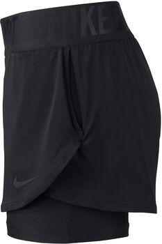 Nike Court Dry Ace short Dames Zwart
