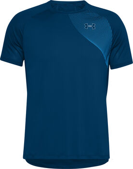 Under Armour Qualifier Iso-Chill Run t-shirt Heren Blauw