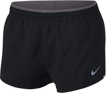 "Nike Elevate 3"" short Dames Zwart"