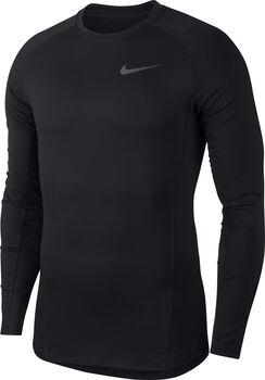 Nike Pro warm top Heren Zwart