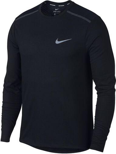 Nike - Breathe Tailwind shirt - Heren - Shirts - Zwart - L