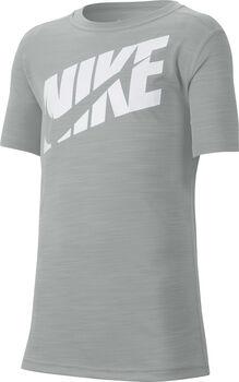 Nike Short Sleeve kids shirt Jongens Grijs