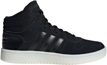 ADIDAS Hoops 2.0 Mid sneakers Dames Zwart