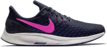 Nike Zoom Pegasus 35 hardloopschoenen Dames Blauw