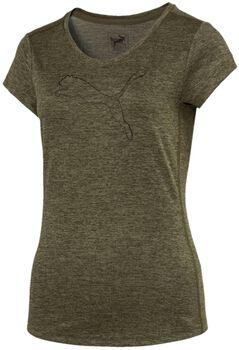 Puma Heather cat shirt  Dames Groen