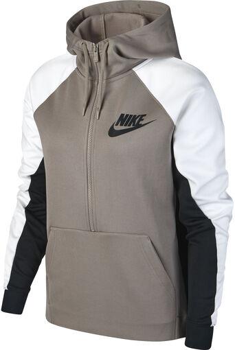 Nike - Sportswear hoodie - Dames - Sweaters - Bruin - XL