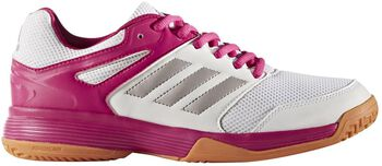 ADIDAS Speedcourt indoorschoenen Dames Wit