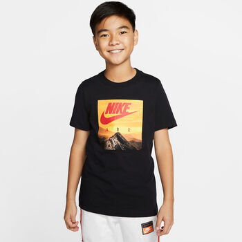 Nike Air Big shirt Zwart