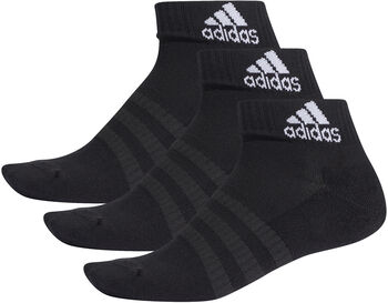 adidas Gevoerde enkelsokken (3 paar) Zwart