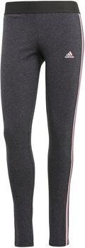 adidas LOUNGEWEAR Essentials 3-Stripes Legging Dames Grijs