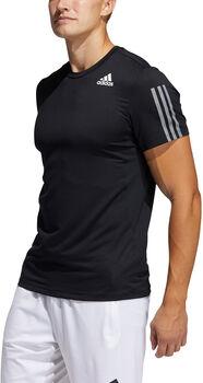 adidas Primeblue AEROREADY 3-Stripes Slim-fit T-shirt Heren Zwart