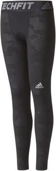 Adidas Techfit Warm jr tight Jongens Zwart