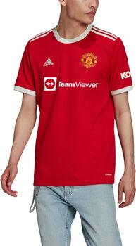 adidas Manchester United thuisshirt 21/22 Heren Rood