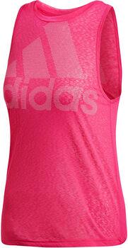 adidas Magic Logo top Dames Roze