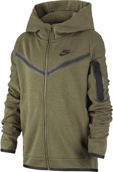 Nike Sportswear Tech kids fleece hoodie Jongens Groen