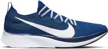 Nike Zoom Fly Flyknit hardloopschoenen Blauw